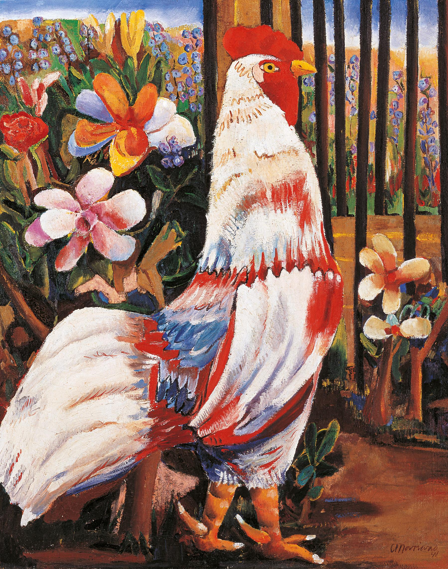 Cuban artist Mariano Rodriguez