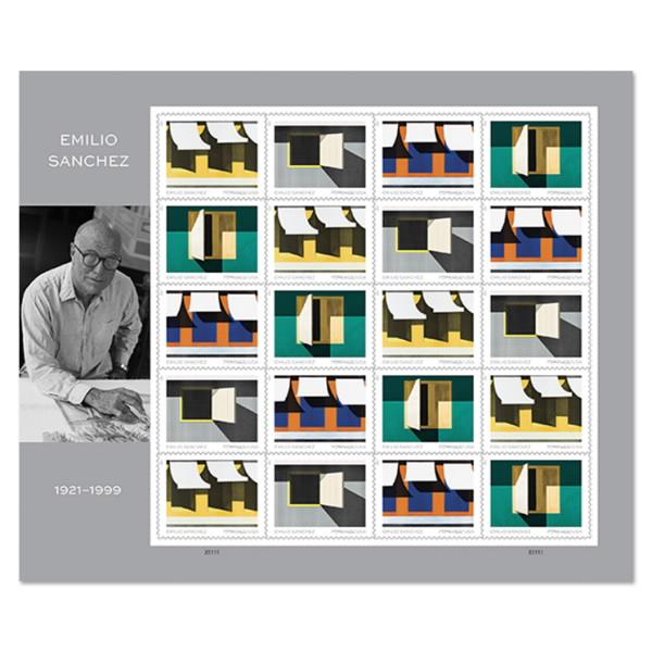 Emilio Sanchez Forever stamps